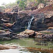 Kakadu Waterfall Poster