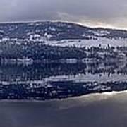 Sunset Kalamalka Lake - British Columbia Poster