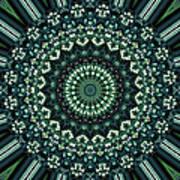 Kaleidoscope 10 Poster by Tom Druin