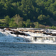Kanawah Falls I - Spring Poster