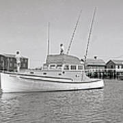 Kandy Of Barnstable Harbor 1950's Poster