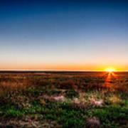 Kansas Sunrise Poster