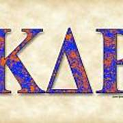 Kappa Delta Rho - Parchment Poster