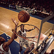 Kareem Abdul Jabbar Tip In Poster by Retro Images Archive