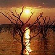 Kariba Sunset Poster