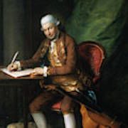 Karl Friedrich Abel (1725-1787) Poster