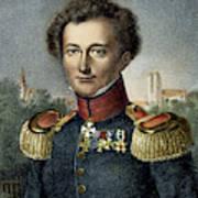 Karl Von Clausewitz (1780-1831) Poster