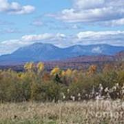 Katahdin From Staceyville 4 Poster