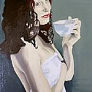Katie - Morning Cup Of Tea Poster