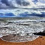 Kauai Glass Beach Poster