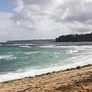 Kauai Shore Looking South Poster