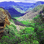 Kauai Valley Poster