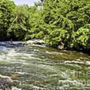 Kayaking On Gull River Poster