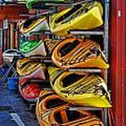 Kayaks Hdrbt3226-13 Poster