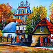 Kazimierz Dolny In Fall Poster