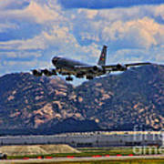 Kc-135 Take Off Poster