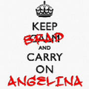 Keep Calm And Carry On 01 Poster