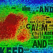 Keep Calm And Chill Poster