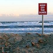 Keep Off The Dunes Poster