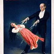 Kellar Levitation Vintage Magic Poster Poster