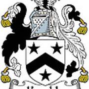 Kemble Coat Of Arms Irish Poster