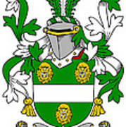 Kennagh Coat Of Arms Irish Poster