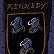 Kennedy Crest Poster