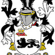Kennelly Coat Of Arms Irish Poster
