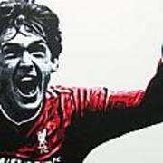 Kenny Dalglish - Liverpool Fc Poster