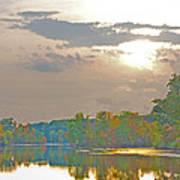 Kensington Autumn Sunset Poster
