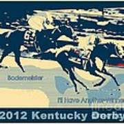 Kentucky Derby Champion Poster by RJ Aguilar