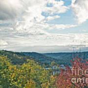 Kentucky Mountains In Autumn Poster