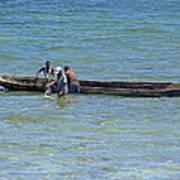 Kenyan Fishermen Poster