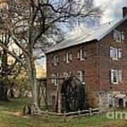 Kerr Grist Mill At Sloan Park Poster