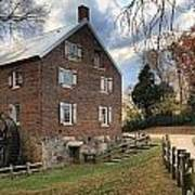 Kerr Grist Mill Panorama Poster
