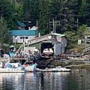 Ketchikan Buildings With Character 1 Poster