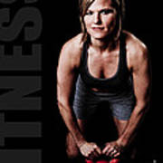 Kettlebell Time Poster by Jt PhotoDesign