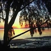 Key Biscayne Sunset Poster