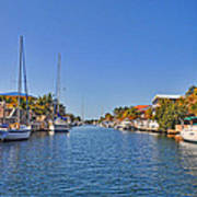 Key Largo Canal 3 Poster