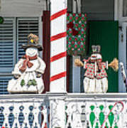 Key West Christmas Decorations 2 Poster