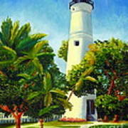Key West Lighthouse Poster