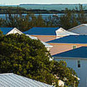 Key West Rooftops Poster