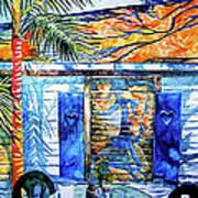 Key West Still Life Poster