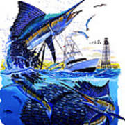 Keys Sail Poster