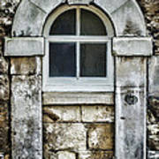 Keystone Window Poster by Heather Applegate