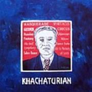 Khachaturian Poster