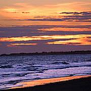 Kiawah Sunset Poster