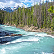 Kicking Horse River In Yoho Np-bc Poster