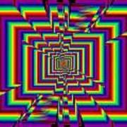 Kinetic Rainbow 42 Poster