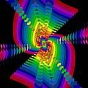 Kinetic Rainbow 47 Poster